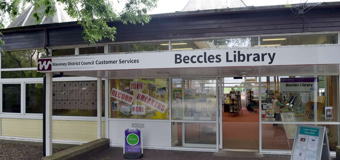 Beccles Library - Visitor Information Point