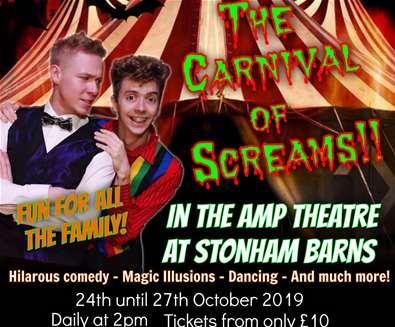 Halloween Spooktacular - The Carnival of Screams at Stonham Barns