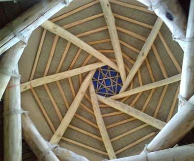 WTS - Alde garden - Roundhouse roof