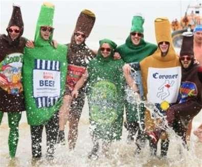 Lowestoft Christmas Day Swim