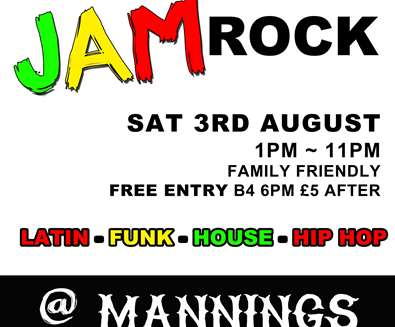 Jam Rock at Mannings..
