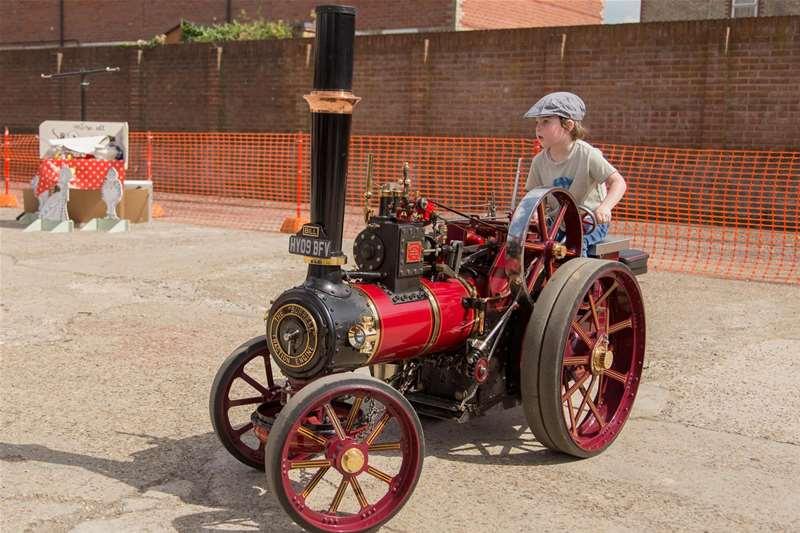 TTDA - Long shop museum - steam engine