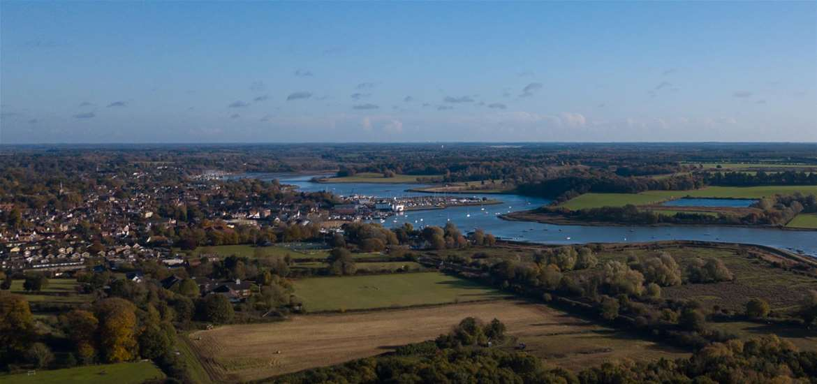 TTDA - Choose Woodbridge - Aerial view