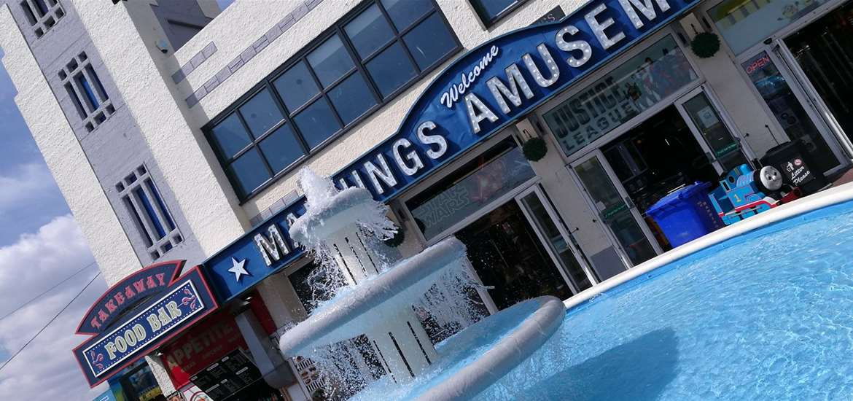 TTD Mannings Amusements Felixstowe