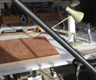 Learn Kitchen Litho Printmaking - Day Printmaking workshop on the Suffolk Coast