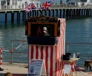 Punch & Judy at Southwold Pier