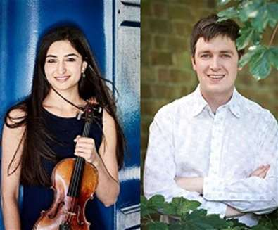 Savitri Grier, violin and Richard Uttley, piano