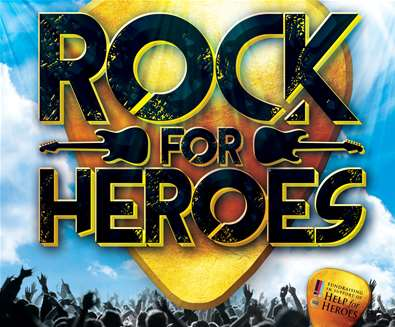 Rock for Heroes at..
