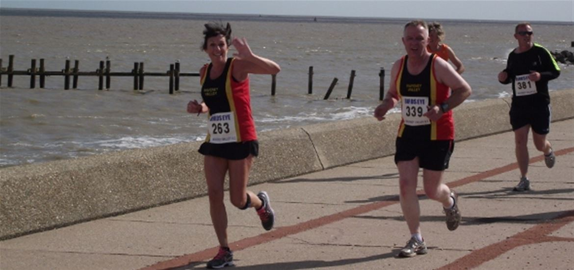 Triathlon Training on The Suffolk Coast