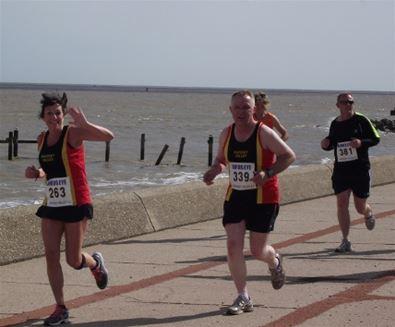 Run, swim and cycle - triathlon training on The Suffolk Coast