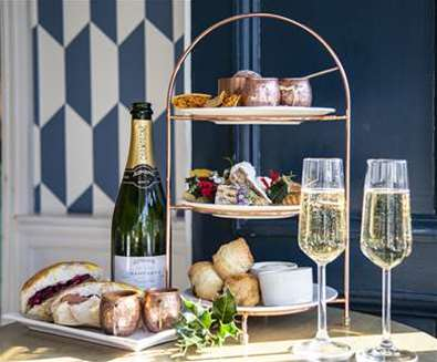 Festive Afternoon Tea at The Swan Southwold