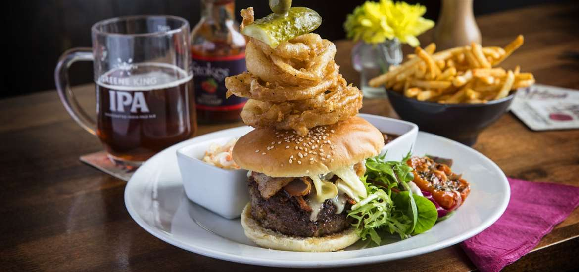 F&D - The Anchor - Woodbridge - Burger Stack