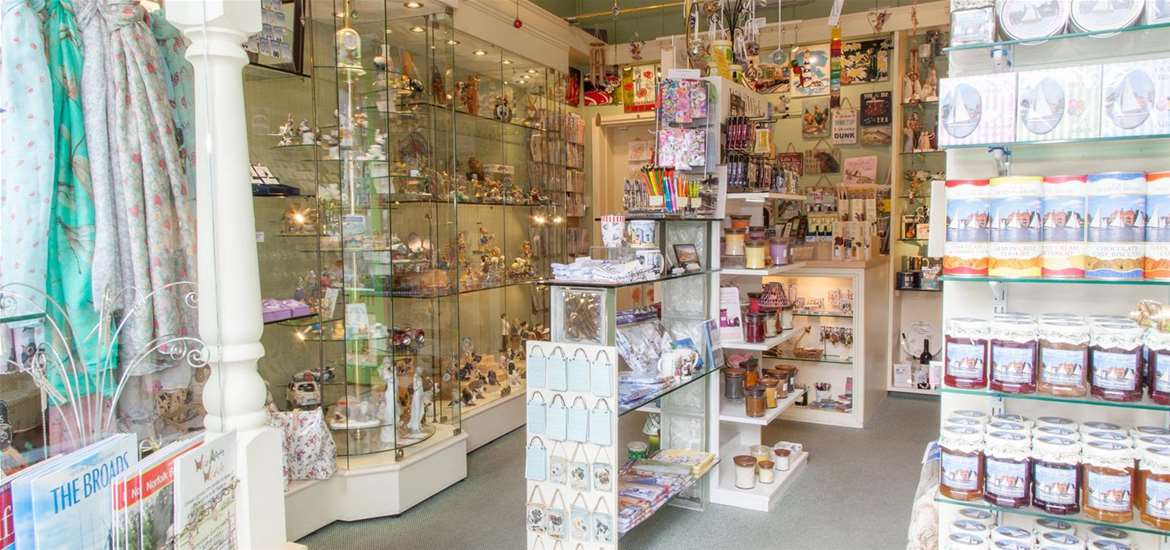 TTD The Gift Shop Oulton Broad