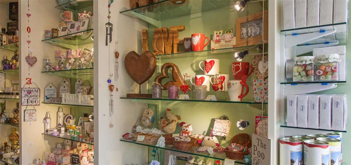 TTD The Gift Shop Interior Oulton Broad