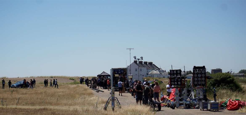 TTDA - Screen Suffolk - Filming on Shingle Street