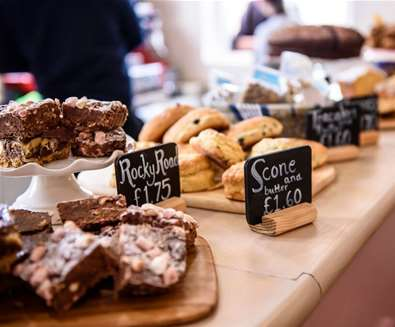 Articles - 5 Reasons to Visit Beccles - Cakes at Beccles Station Cafe