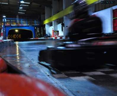 Buy 12 laps get 12 laps free with Anglia Indoor Karting