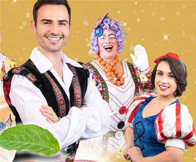 Snow White and the Seven Dwarfs at Marina Theatre Lowestoft