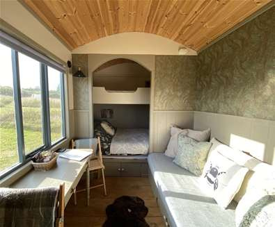 40% off all Shepherds Hut stays until Christmas